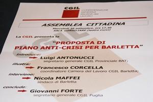 CGIL contro la crisi