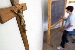 Crocifisso a scuola