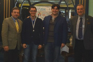 Nicola Altini conquista la norma da Maestro Internazionale