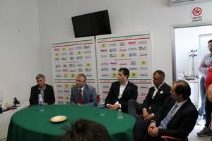 Barletta Calcio, presentazione Sesia e Rizzieri