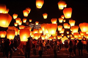 Lanterne cinesi per Capodanno