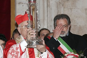 Osso San Ruggero Cardinale Monterisi