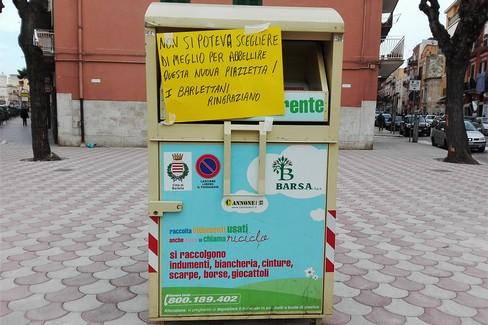 arrives 482c2 58510 Barletta: Via Regina Margherita, la nuova piazzetta ...