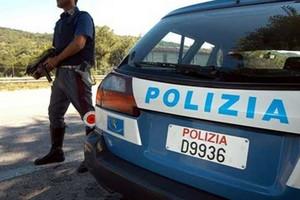 Polizia Blocco Controllo