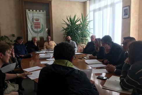 Residenti di via Andria a Palazzo di città per incontrare il sindaco Cannito