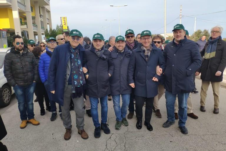 Manifestazione xylella, presente Dario Damiani