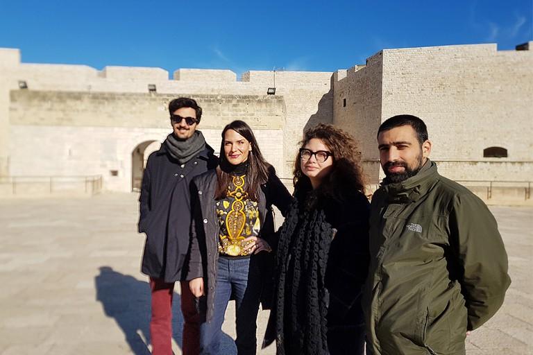 Il team del progetto Oltre le mura