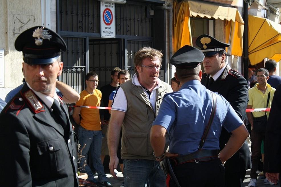 Omicidio Pellizzieri in piazza Divittorio