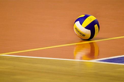 pallone campo volley