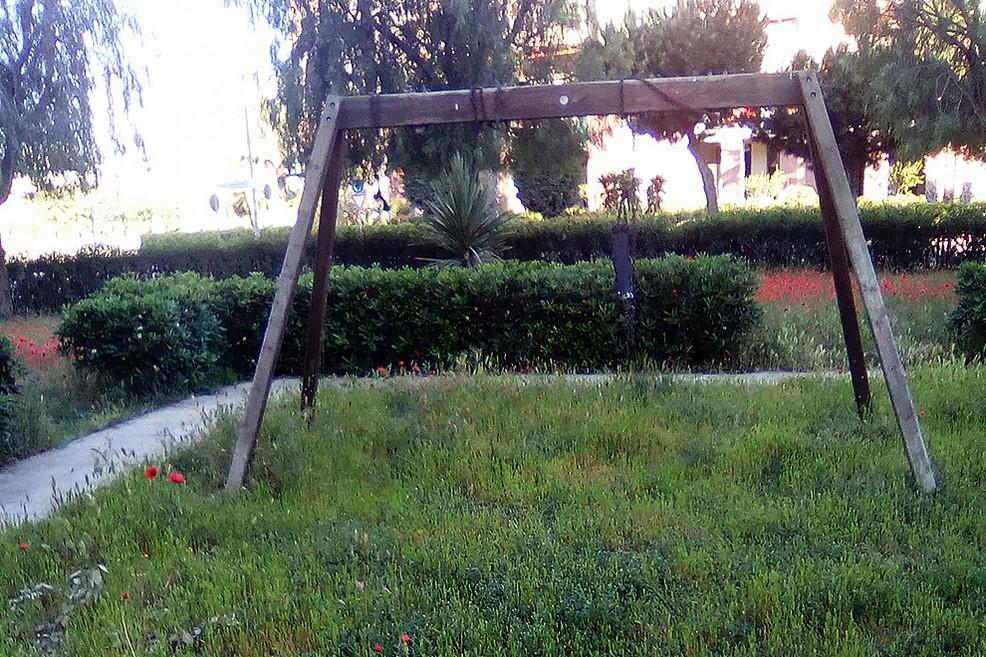 Parco giochi in via Barberini
