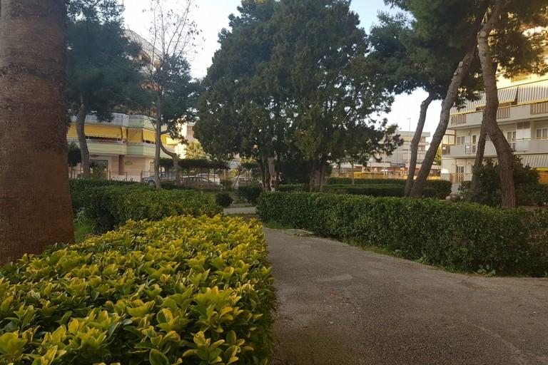 Parco in via Dante Alighieri