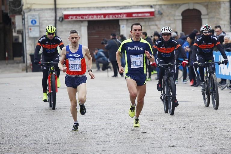 Pasquale Rutigliano alla Pietro Mennea Half Marathon