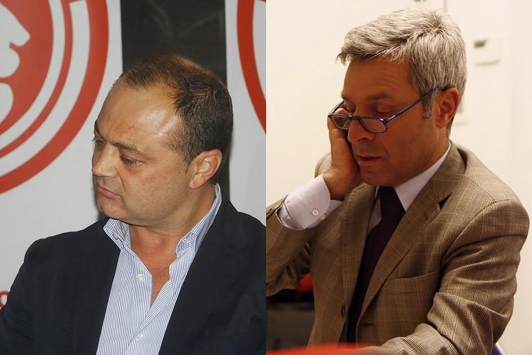 Ruggiero Passero e Michele Ciniero