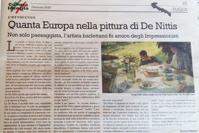 Articolo su De Nittis