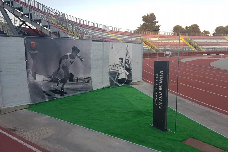 Ecco la nuova pista d'atletica di Barletta