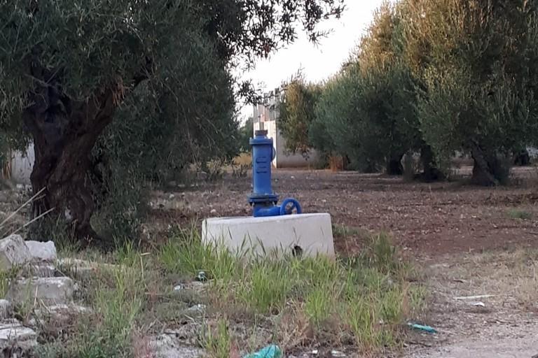 Pozzo artesiano ad Andria
