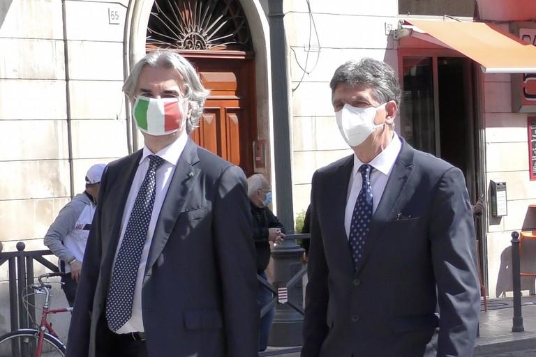 Prefetto Valiante e sindaco Cannito