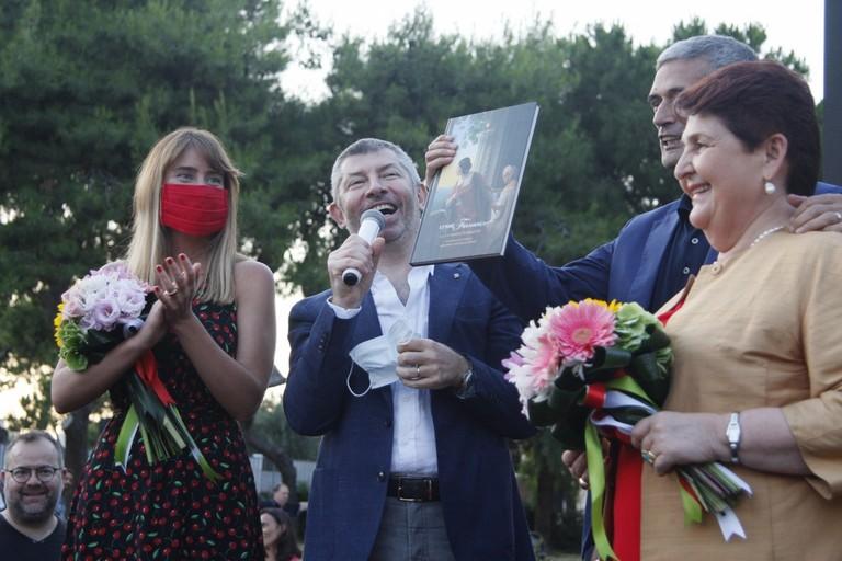 Ivan Scalfarotto presenta a Barletta la sua candidatura alla Regione. <span>Foto Ida Vinella</span>