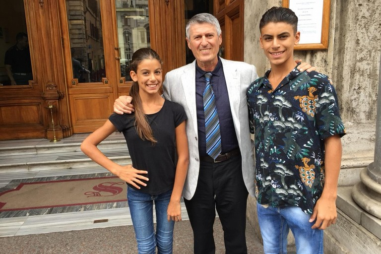 Attestato di benemerenza in Senato per i due ballerini di Barletta