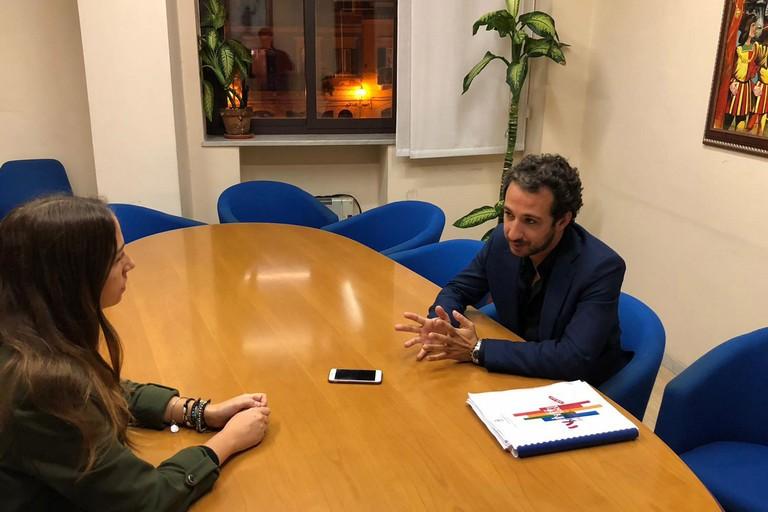 Riccardo Memeo e Antonella Filannino