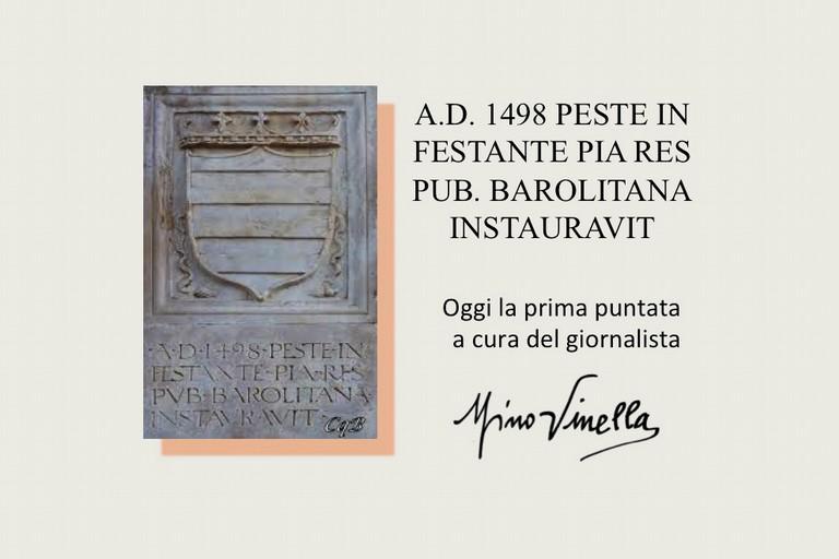 Epidemie a Barletta nella storia