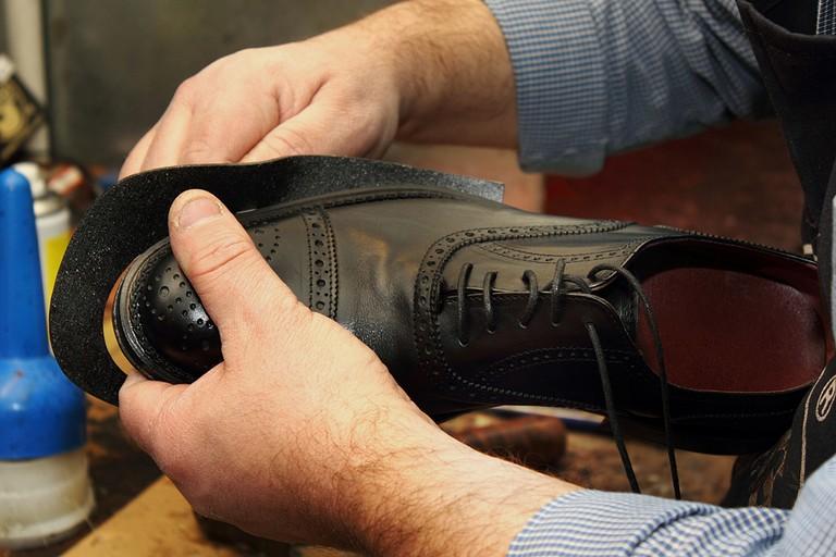 Fabbricazione scarpe