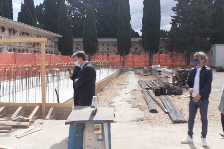 Cimitero di Barletta, avviata la costruzione di 900 loculi e di 240 nuovi ossari