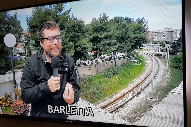 Cantiere di via Andria, Pinuccio arriva a Barletta