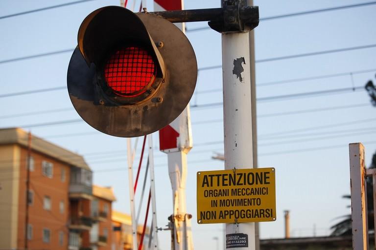 Addio al passaggio a livello di via Andria. <span>Foto Ida Vinella</span>