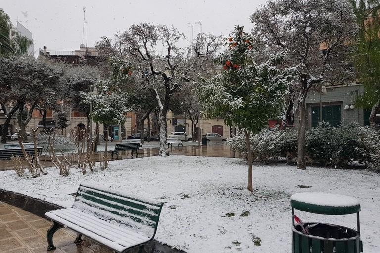 Neve a Barletta