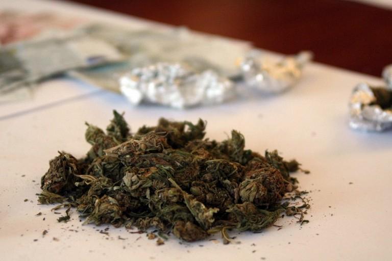 Dosi di marijuana