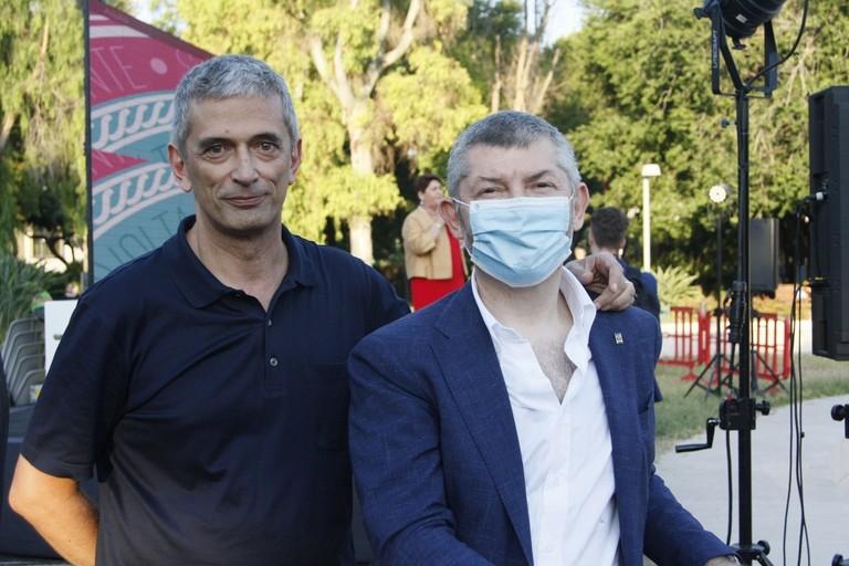 Ruggiero Crudele e Ivan Scalfarotto