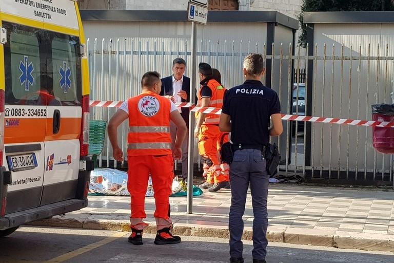 Delitto in corso Vittorio Emanuele, interviene il sindaco Cannito