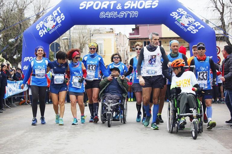 Spingitori alla Pietro Mennea Half Marathon