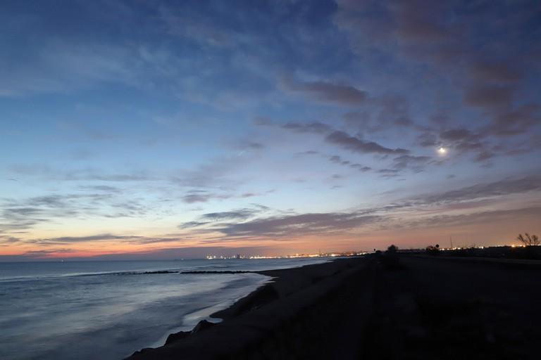 Il mare di Barletta