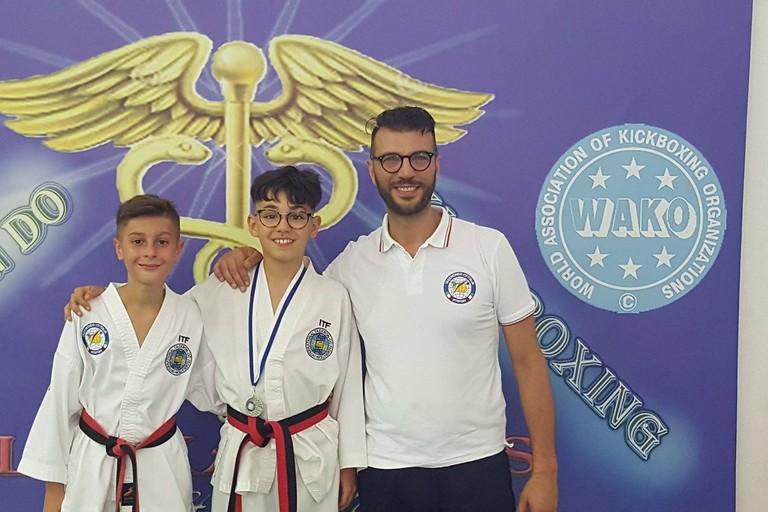Taekwondo, due ori e un argento per la