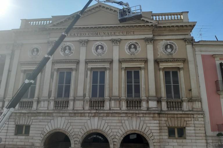 Teatro Curci messa in sicurezza