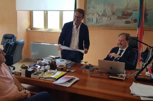 Tito Vespasiani, Dario Damaini e Ugo Patroni Griffi
