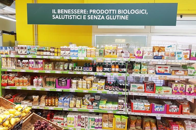 Prodotti biologici a Todis