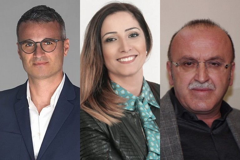 I candidati più votati: Tupputi, Divincenzo, Dicataldo