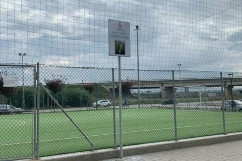 Un campo per Enzo Cassano