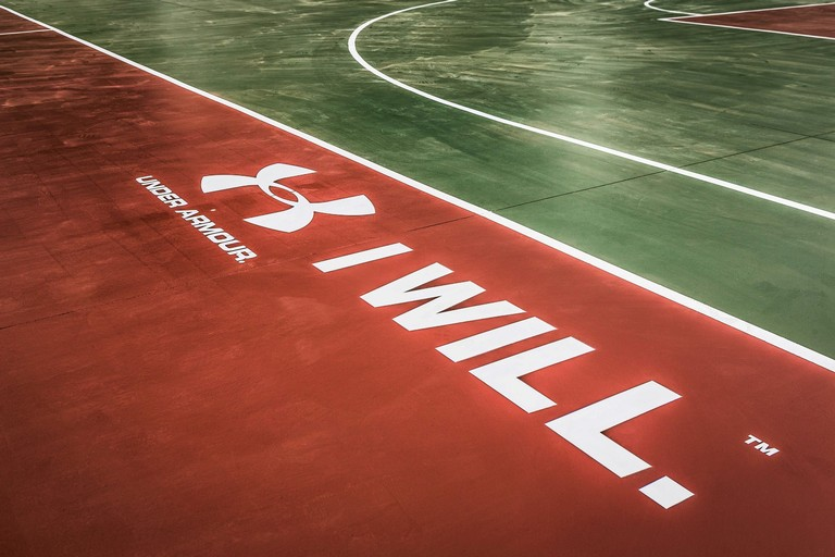 Nuovo campo basket Under Armour a Parco Sempione