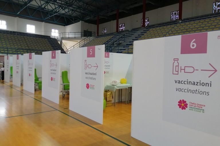 Hub vaccinale di Barletta