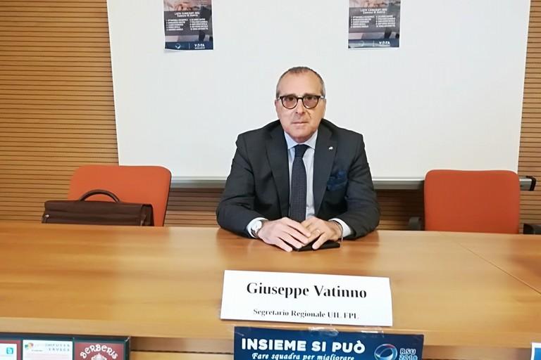 Giuseppe Vatinno, segretario generale della UIL FPL Puglia