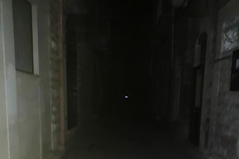 Black out in via Pistergola