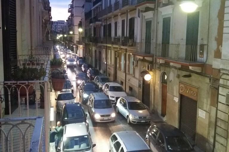 Traffico in via XX settembre