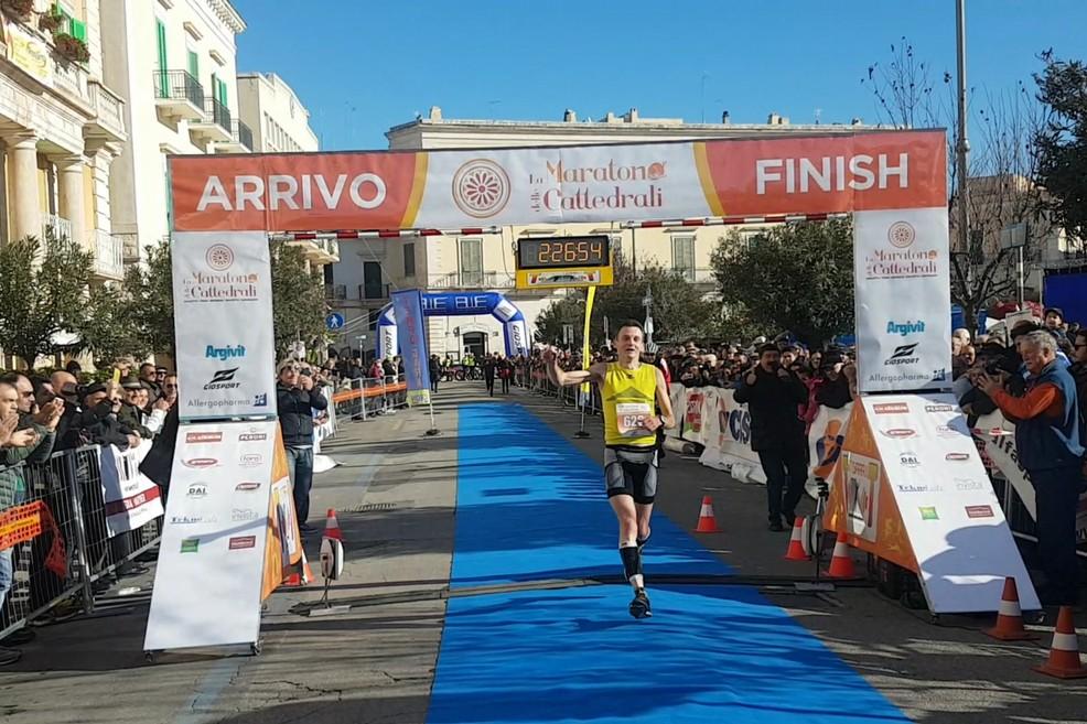 Vincitore Maratona delle Cattedrali