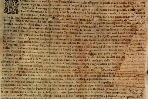Il Voto del 1656