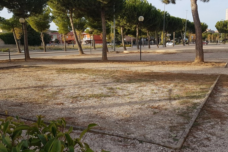 Incuria e degrado nell'area verde di Via Palmitessa