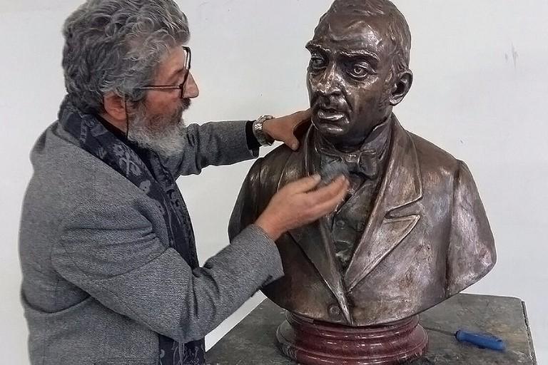 Omaggio a Giuseppe Curci, oggi lo scoprimento del busto in bronzo